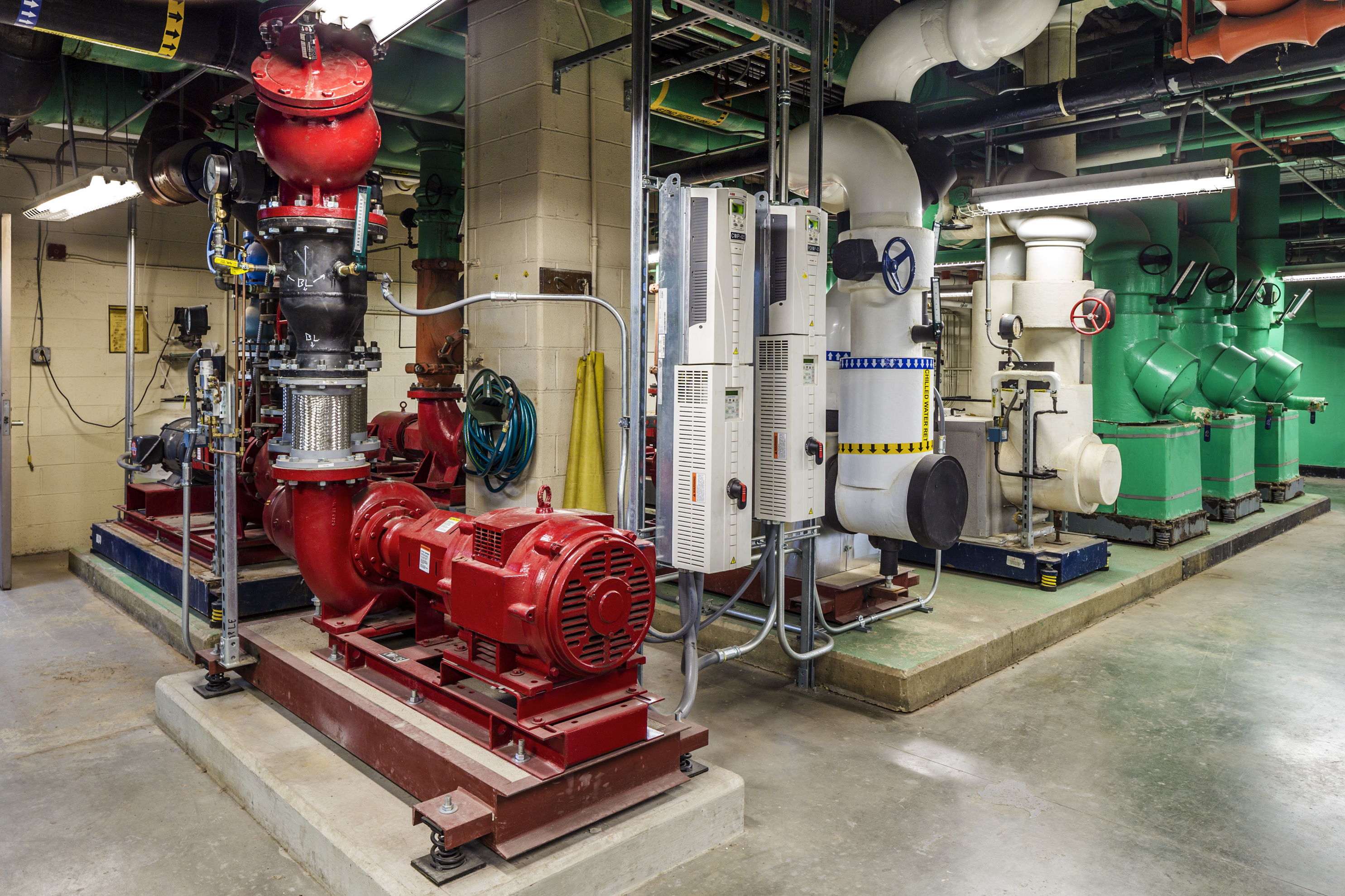 UCMC Chilled & Cond Water Pumps